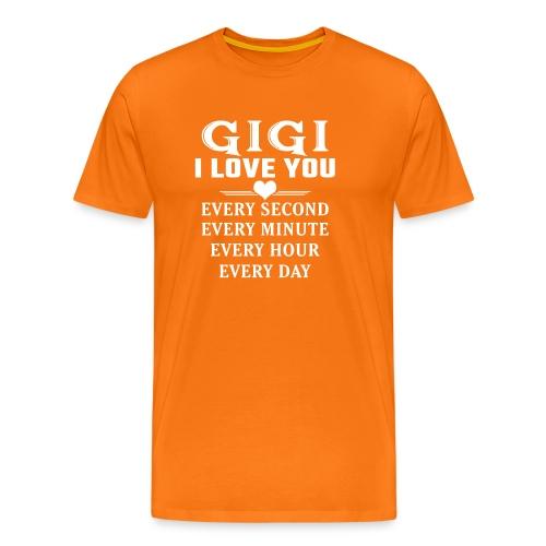 I Love You Gigi - Men's Premium T-Shirt