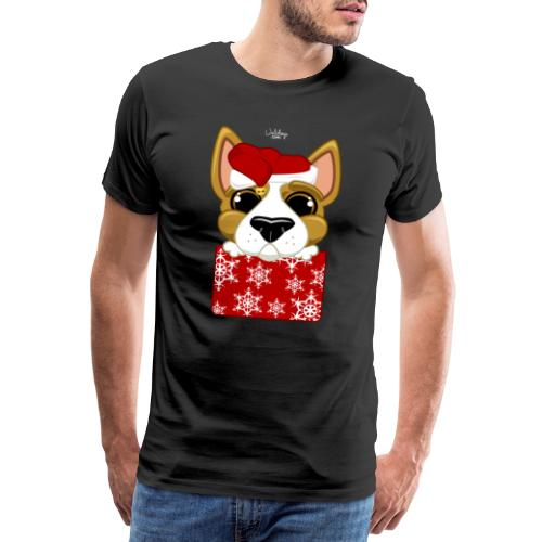 Christmascorgi - Miesten premium t-paita