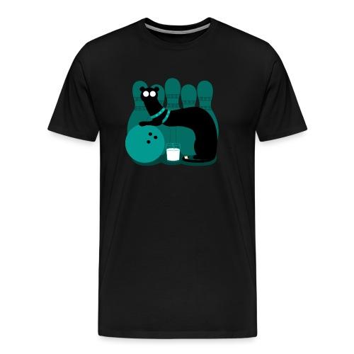 Bowlande vessla - Premium-T-shirt herr
