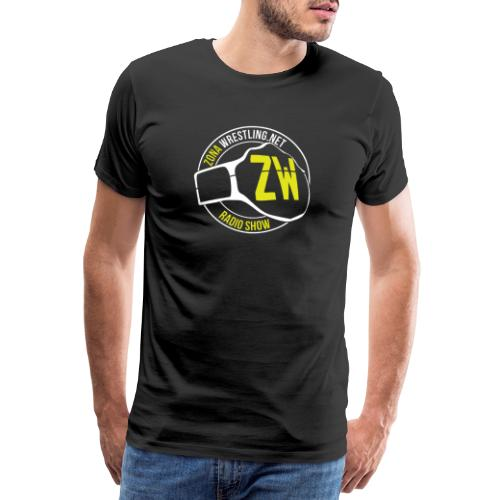 Zona Wrestling Radio Show - Maglietta Premium da uomo
