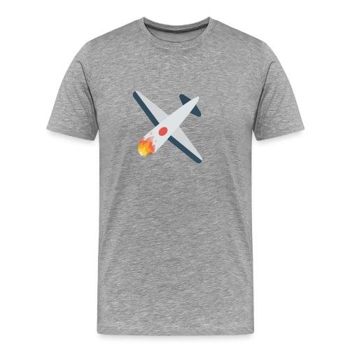 Falling Plane - Men's Premium T-Shirt