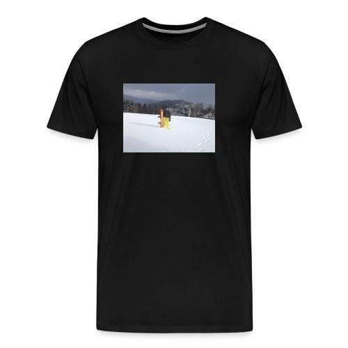 mountain girl - Mannen Premium T-shirt