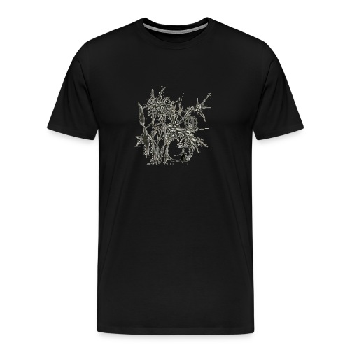 bambou4 GIF - T-shirt Premium Homme