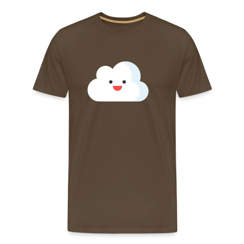 private-cloud-logga-utan- - Premium-T-shirt herr