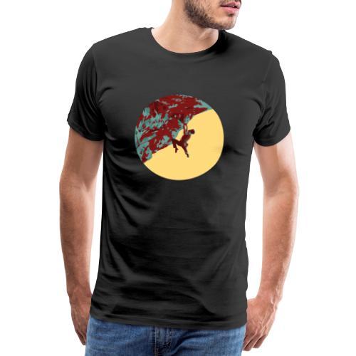Stark am Fels - Felsklettern am Falkenstein - Männer Premium T-Shirt