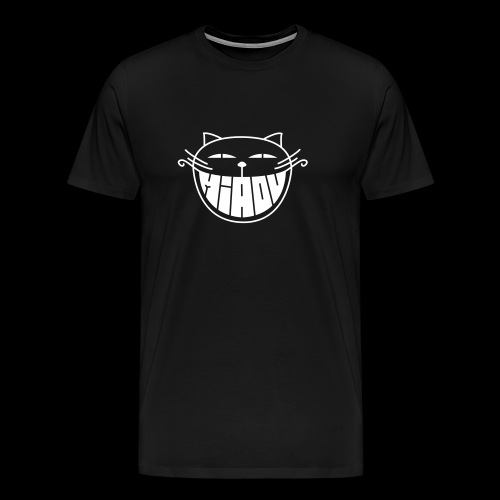 The smiling cat/ - T-shirt Premium Homme