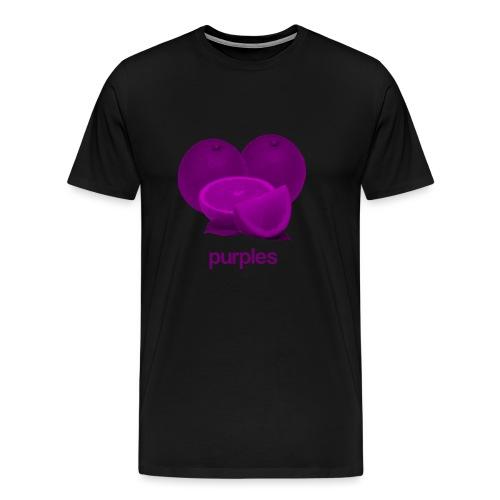 Purples - Mannen Premium T-shirt