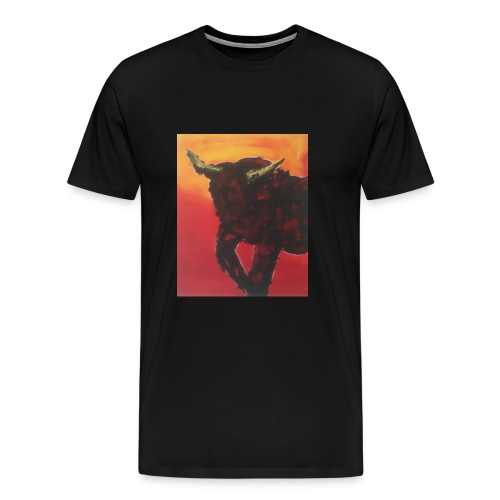 Max der Stier - Männer Premium T-Shirt