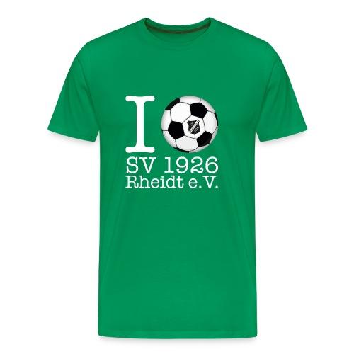 I Love SV Rheidt white - Männer Premium T-Shirt