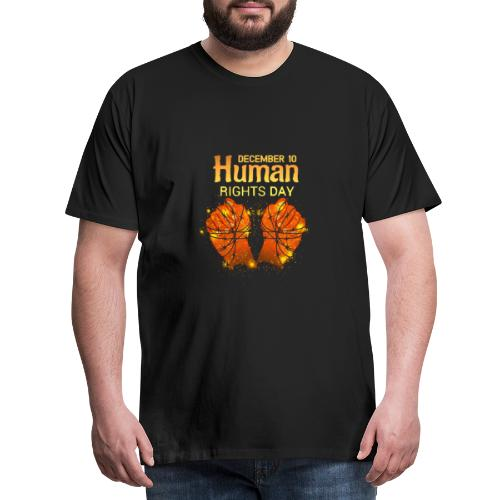 Human Rights - Männer Premium T-Shirt