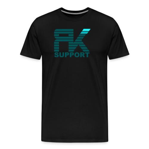 Logofront - Herre premium T-shirt