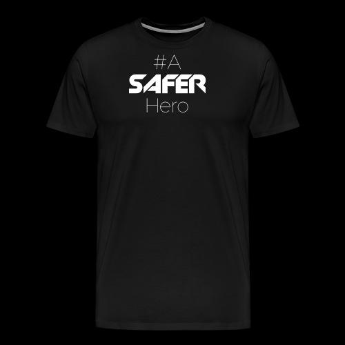 #ASaferHero - Männer Premium T-Shirt