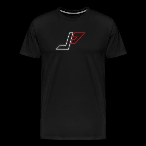 plunjie logo - Men's Premium T-Shirt