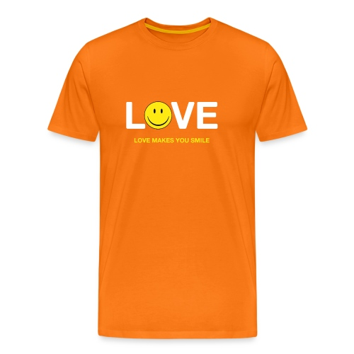 Love Makes You Smile - Men's Premium T-Shirt