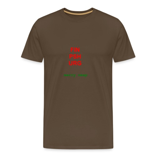 Merry nmap - Men's Premium T-Shirt