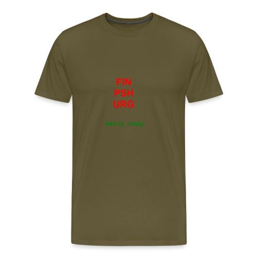 Merry nmap - Men's Premium T-Shirt