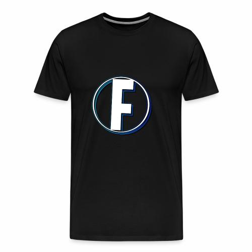 FLANQER - R - BLUE - Mannen Premium T-shirt