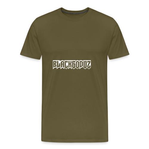 blackgodvz - Maglietta Premium da uomo