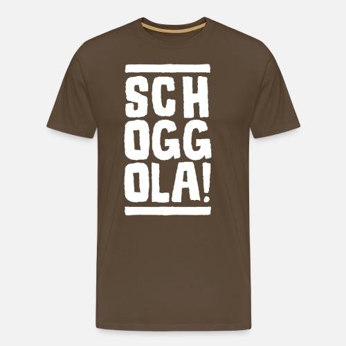 Schoggola! - Männer Premium T-Shirt