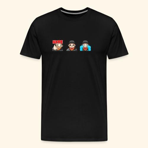 3Emotes - Men's Premium T-Shirt