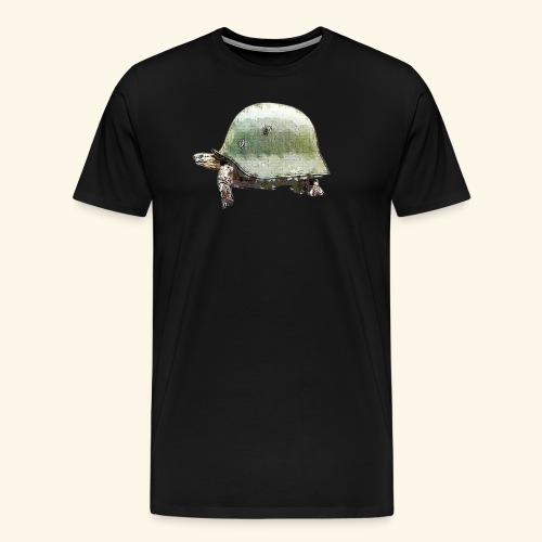 TORTUGA CASCO MILITAR - Camiseta premium hombre