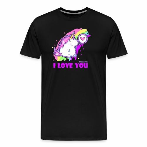 unicorn_love - Männer Premium T-Shirt