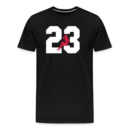 Sexy Dreiungzwanzig / 23 - Männer Premium T-Shirt