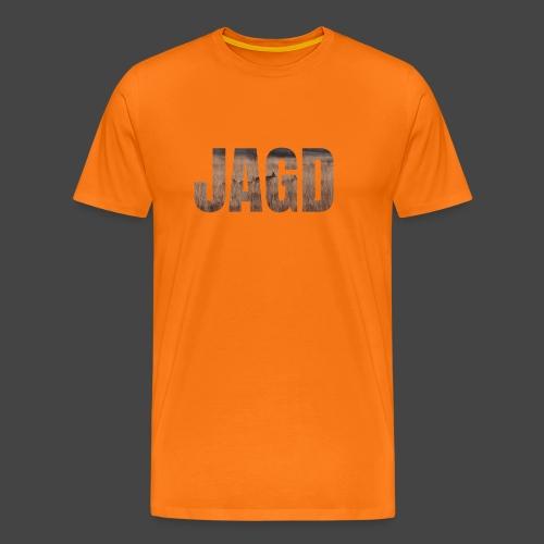 JAGD-Shirt für Jäger/innen, Motiv Moorjagd - Männer Premium T-Shirt