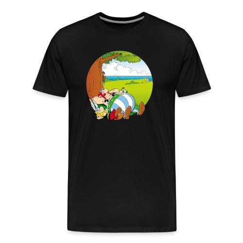 Astérix & Obélix Font Une Sieste - T-shirt Premium Homme