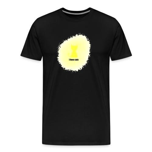 Sand cat - Men's Premium T-Shirt