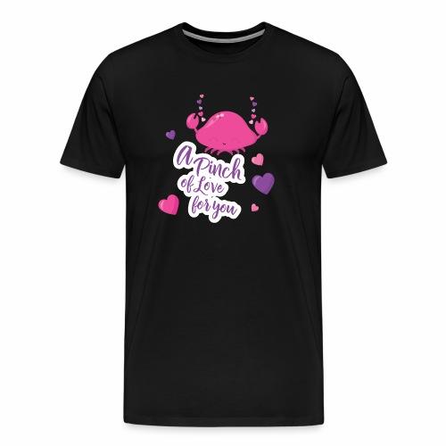 Verliebte Krabbe - Männer Premium T-Shirt