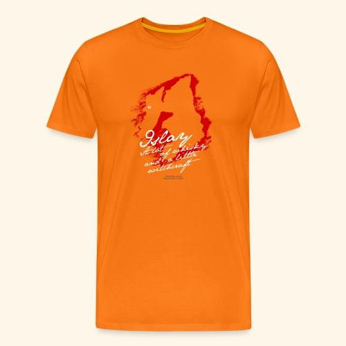 Whisky T-Shirt Islay Witch - Männer Premium T-Shirt