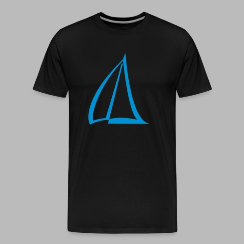 Segel Einfarbig Pictogram - Männer Premium T-Shirt