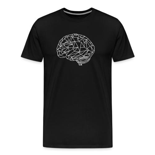 Geometrie Gehirn Mefiziner - Männer Premium T-Shirt