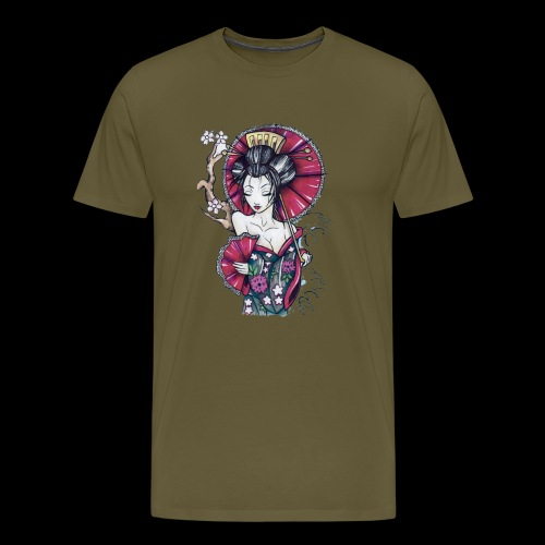 Geisha2 - Maglietta Premium da uomo