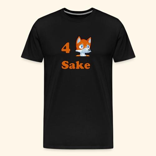 4 Fox Sake - Premium-T-shirt herr
