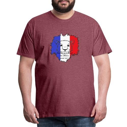 Lion supporter France - T-shirt Premium Homme