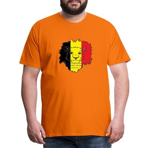 Lion supporter Belgique - T-shirt Premium Homme