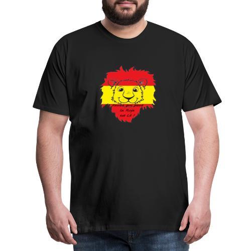 Lion supporter Espagne - T-shirt Premium Homme