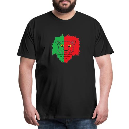 Lion supporter Portugal - T-shirt Premium Homme
