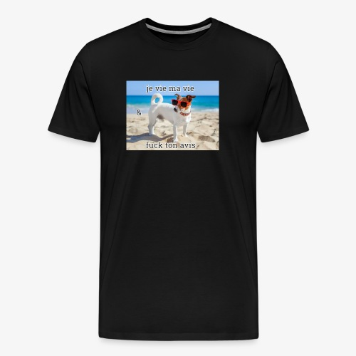 nice logo - T-shirt Premium Homme