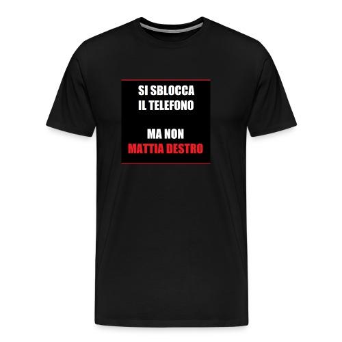 Allcalcio Destro - Maglietta Premium da uomo