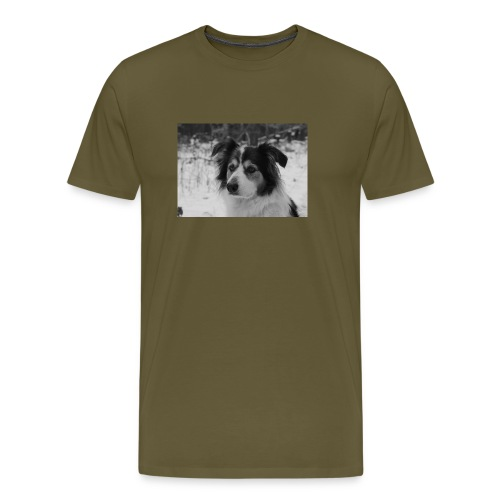 Skippy Winter - Männer Premium T-Shirt