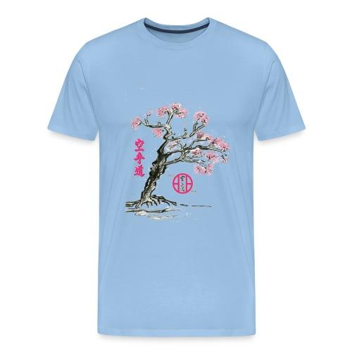 cerisier japonais2 gif - T-shirt Premium Homme