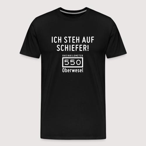 Ich steh auf Schiefer - Männer Premium T-Shirt