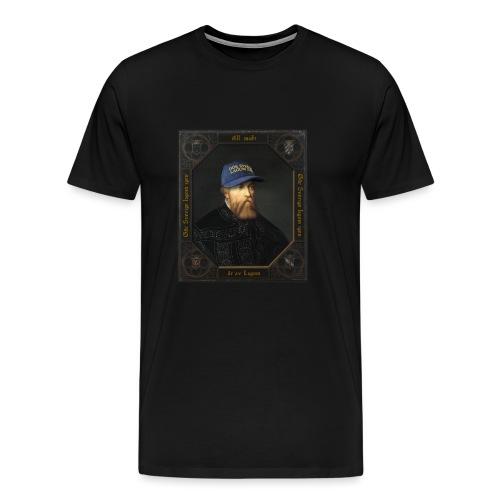 Gör Sverige lagom igen – Gustav Vasa - Premium-T-shirt herr
