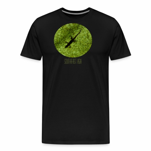 south east asia gecko - Männer Premium T-Shirt