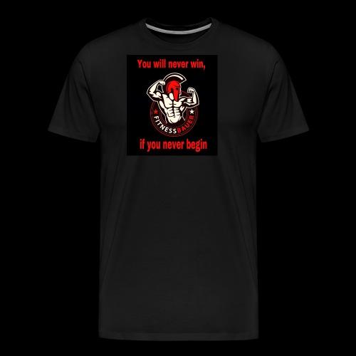 You will never win - Männer Premium T-Shirt