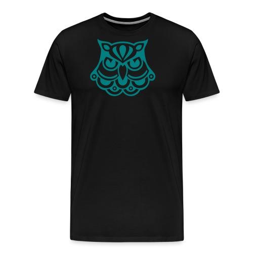 OWL TATTOO - Männer Premium T-Shirt