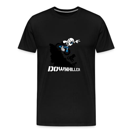 Downhiller - Männer Premium T-Shirt